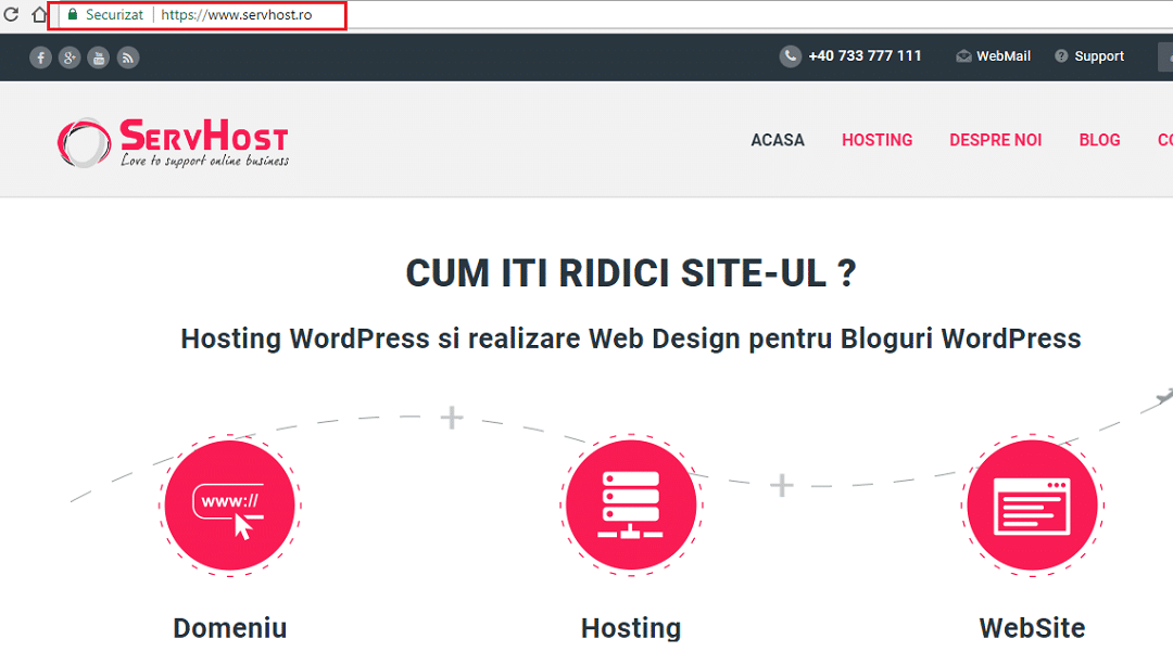Creare Pagina Web WordPress