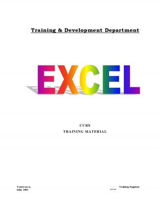 Curs Excel Incepatori Pdf