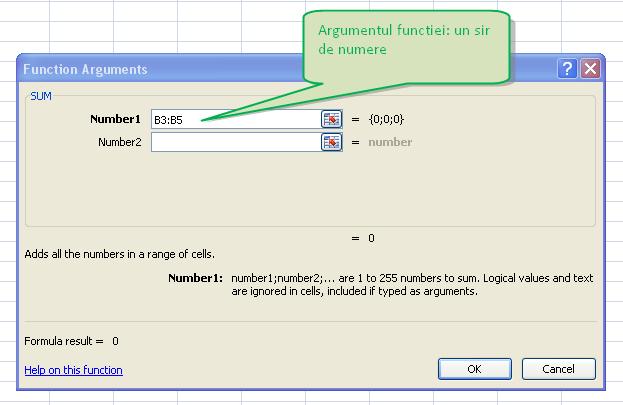 Tabel In Excel Cu Functii
