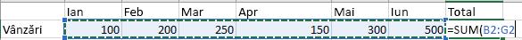 Microsoft Excel – Formule Și Funcții