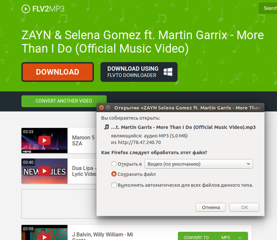 Plugins Firefox Youtube Mp3